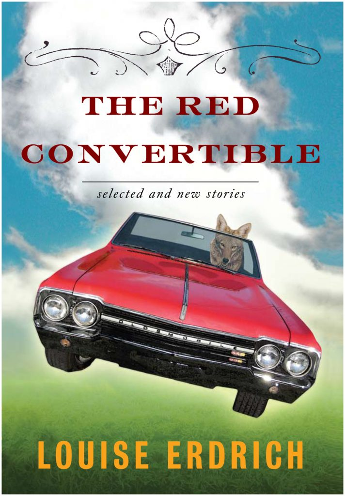 The Red Convertible book cover by Marty Blake