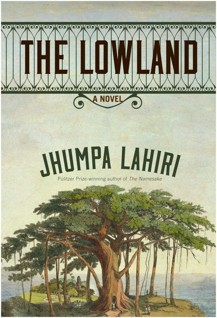 Cover of Jhumpa Lahiri book The Lowland by Marty Blake